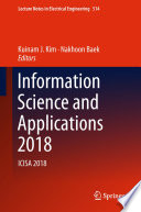 Information Science and Applications 2018 Book