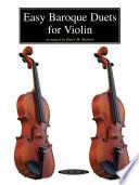 Easy Baroque Duets For Violin Book PDF