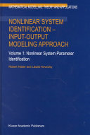 Nonlinear System Identification — Input-Output Modeling Approach