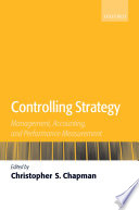 Controlling Strategy Management Accounting And Performance Measurement