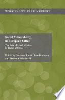 Social Vulnerability in European Cities