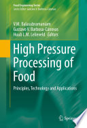 High Pressure Processing of Food Book