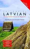 Colloquial Latvian