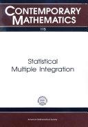 Statistical Multiple Integration
