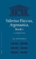 Valerius Flaccus, Argonautica, Book I