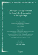 Pdf Challenges and Opportunities for Knowledge Organization in the Digital Age Telecharger