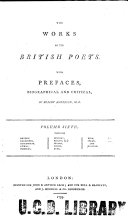 The Works of the British Poets. With Prefaces