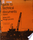 Guide to Technical Documents