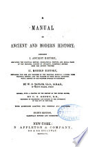 A Manual of Ancient and Modern History Book