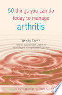 50 Things You Can Do Today to Manage Arthritis Book