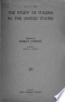 The Study Of Italian In The United States
