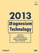 Magnesium Technology 2013