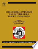 19th European Symposium On Computer Aided Process Engineering Book PDF