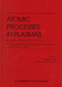 Atomic Processes in Plasmas  Eleventh APS Topical Conference