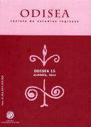 Odisea nº 15: Revista de estudios ingleses