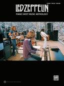 Led Zeppelin - Piano Sheet Music Anthology