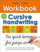 Cursive Handwriting Book