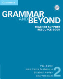 Grammar and Beyond Level 2 Teacher Support Resource Book with CD-ROM