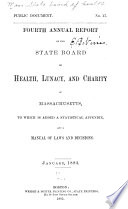 Annual Report of the State Board of Health, Lunacy, and Charity of Massachusetts