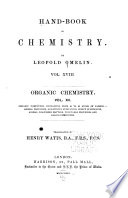 Works of the Cavendish Society  Gmelin  Leopold  Hand book of chemistry  18 v    index  1848 72