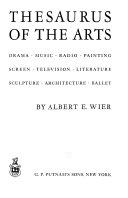 Thesaurus of the Arts