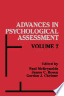 Advances In Psychological Assessment