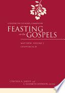 Feasting On The Gospels Matthew Volume 2