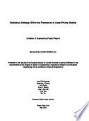 Statistical Arbitrage Within the Framework of Asset Pricing Models