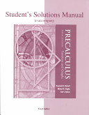 Student s Solutions Manual to Accompany Precalculus Book