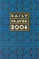 Daily Prayer 2006