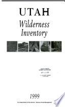 Utah Wilderness Inventory Book