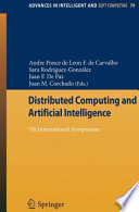 Distributed Computing and Artificial Intelligence Book