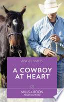 A Cowboy At Heart  Mills   Boon Heartwarming   A Chair at the Hawkins Table  Book 7