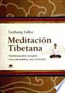 Meditación tibetana  : enseñanzas prácticas para vivir con armonía, paz y felicidad