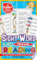 Sight Words Preschool Book