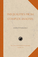 Inequalities from Complex Analysis