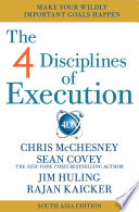The 4 Disciplines of Execution   India   South Asia Edition