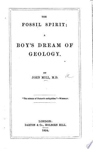 The+Fossil+Spirit%3B+a+Boy%27s+Dream+of+Geology