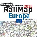 Railpass Railmap Europe 2015