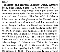 [Early History of C.S. Osborne & Company]
