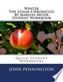 Winter the Lunar Chronicles by Marissa Meyer Student Workbook