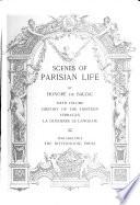 Scenes of Parisian Life  History of the thirteen  Ferragus  La duchesse de Langeais