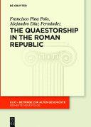 The Quaestorship in the Roman Republic Pdf/ePub eBook