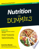Nutrition For Dummies Book