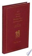 XIX Century British Working-class Autobiographies
