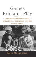 Games Primates Play, International Edition