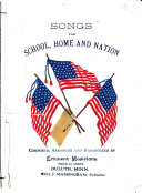 Songs for School  Home and Nation