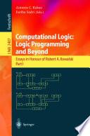 Computational Logic  Logic Programming and Beyond