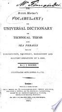 The British Mariner S Vocabulary