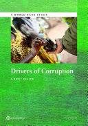 Pdf Drivers of Corruption Telecharger